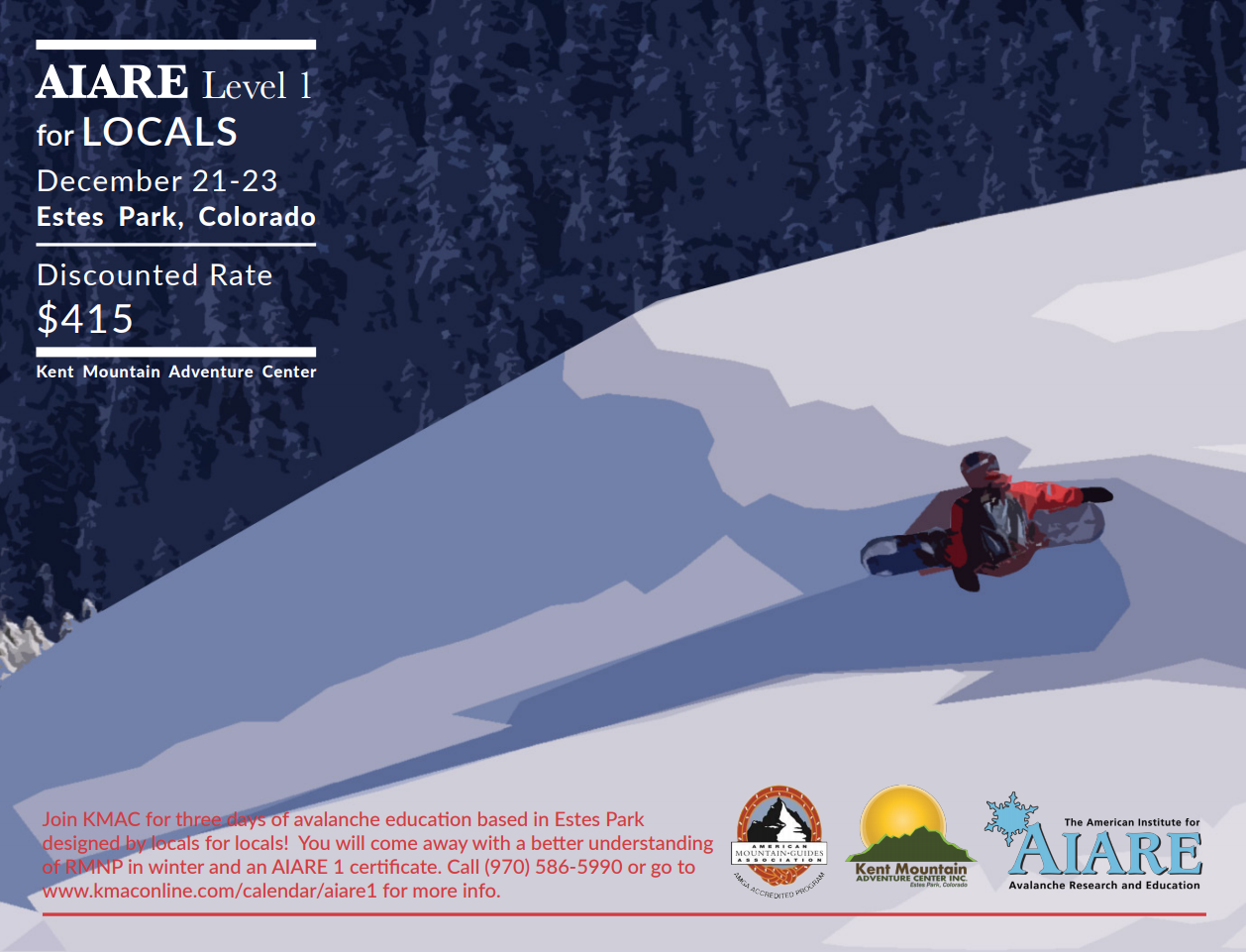 Aiare Level 1 Course For Locals Kent Mountain Adventure Center
