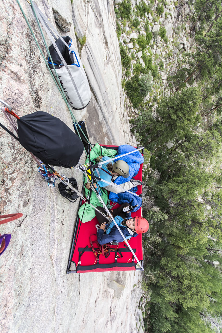 Kmac Online & 10 Gnarly Pictures of Cliff Camping